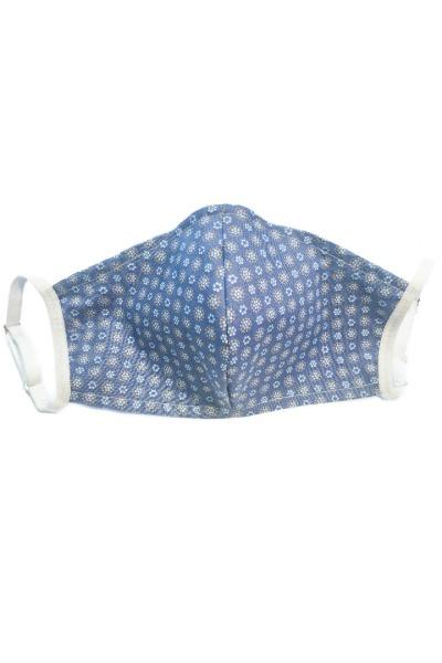 Behelfs- Mundschutzmaske Formine blaue Wiese