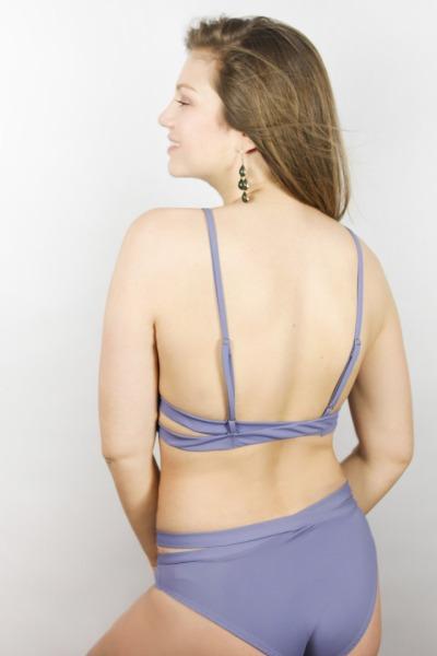 Recyclin Bikini-panties Johto grau