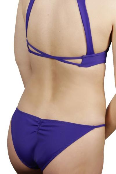 Recycling bikini panties Puro indico
