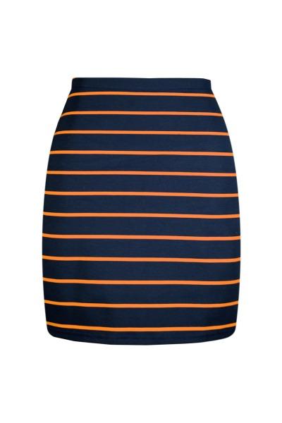 Organic skirt Snoba navy blue dark