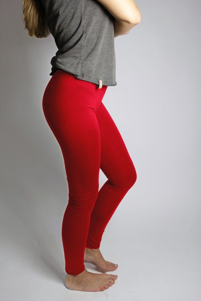 Bio Leggings red hot chili