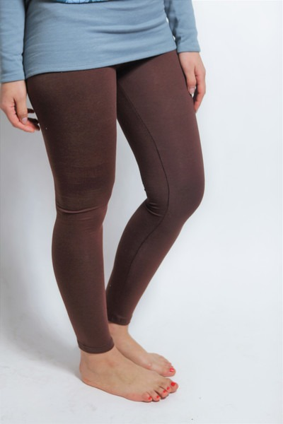 Bio Leggings braun