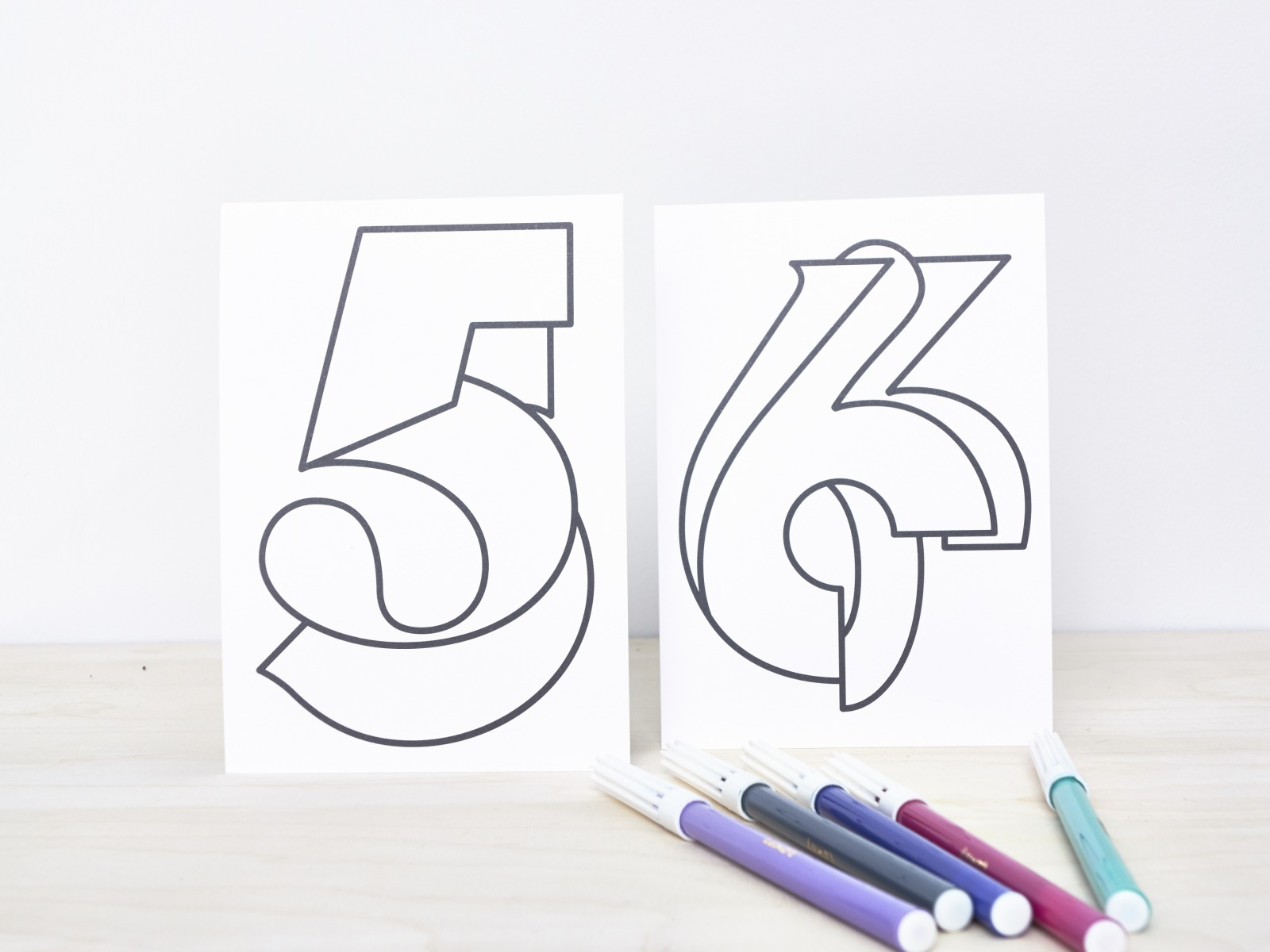 Coloring Numbers Set