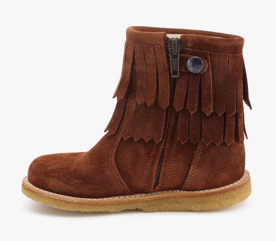 FRINGE Boot COGNAC