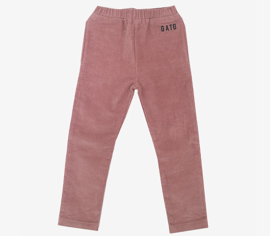 Corduroy Pants Dusty Pink 2