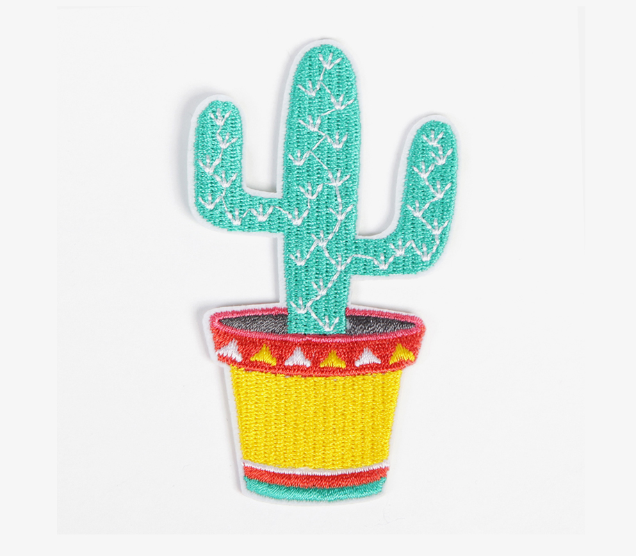 Iron-on Patch CACTUS