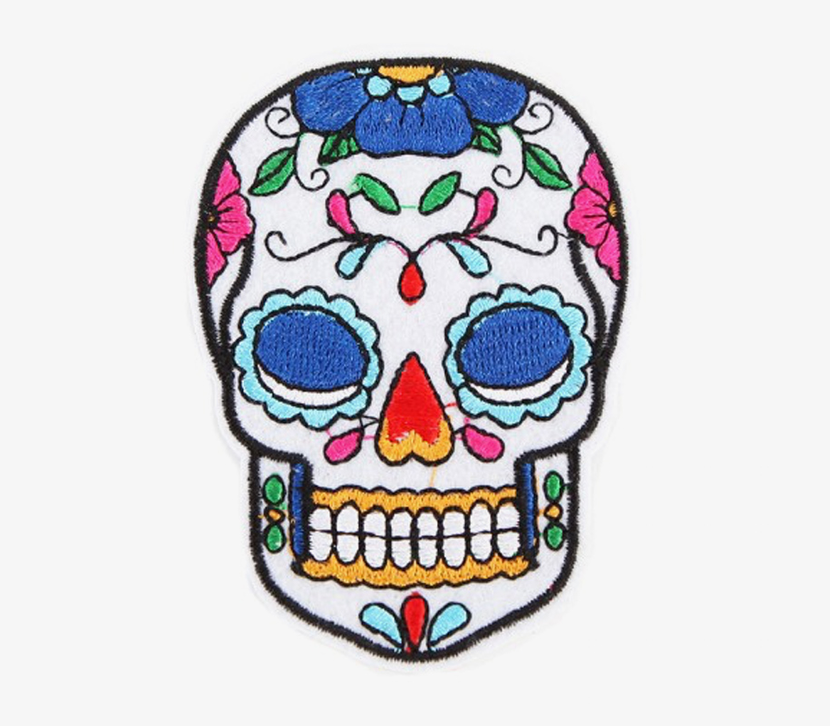Iron-on Patch SKULL