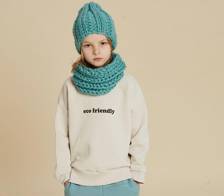 Sweatshirt ECO FRIENDLY VANILLA - 1