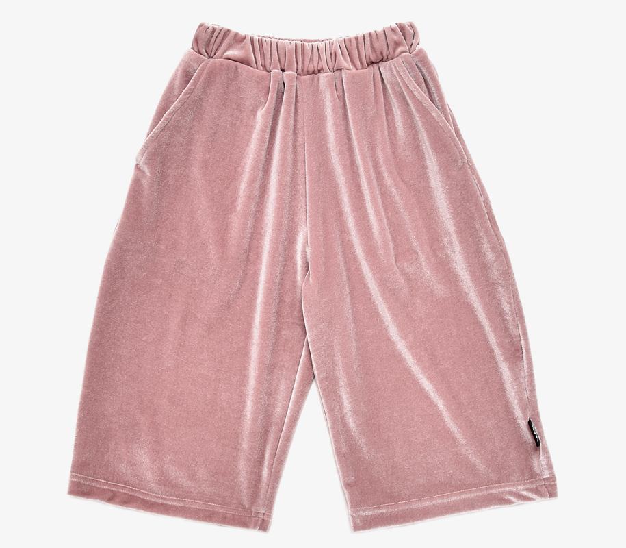 Cropped Pants ROSE VELVET