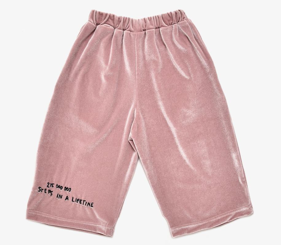 Cropped Pants ROSE VELVET 2