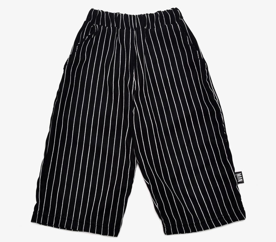 Cropped Pants STRIPED VELVET 2