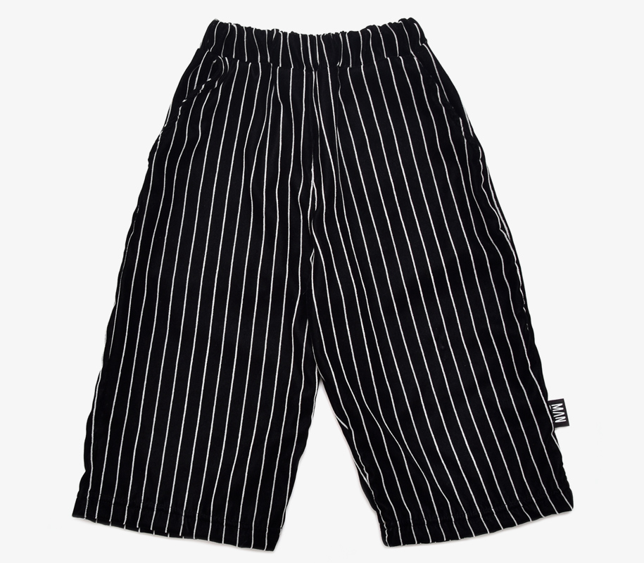 Cropped Pants STRIPED VELVET - 2