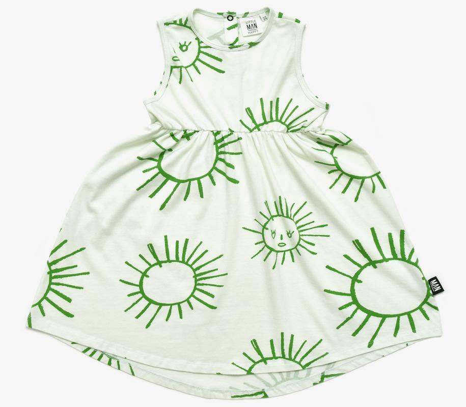 Summer Dress GREEN SUN