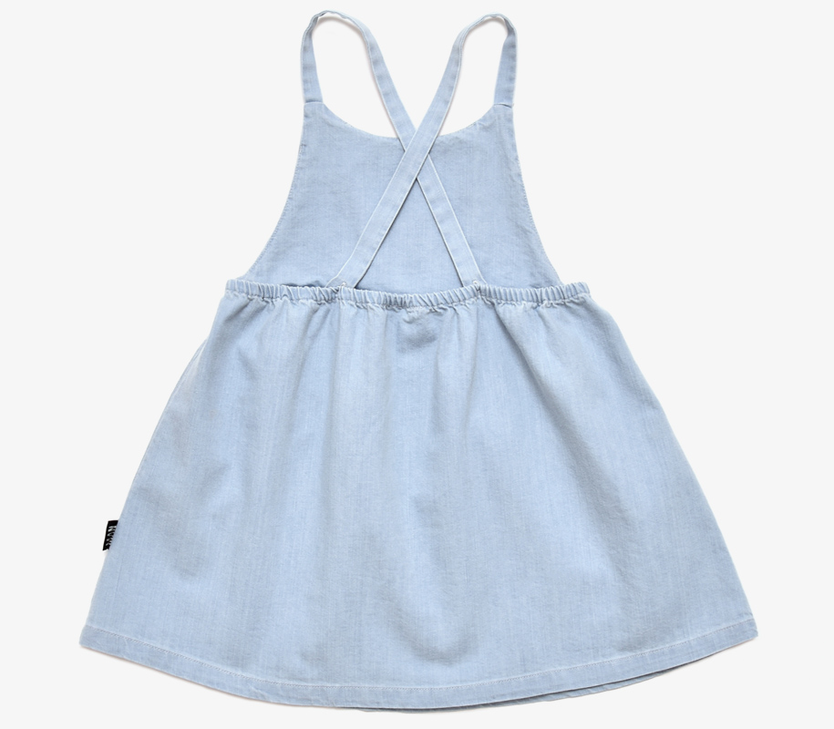 Dungaree Dress TIKI MASK - 3