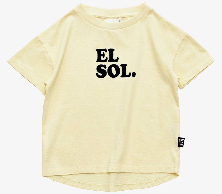 EL SOL Rounded T-Shirt 2