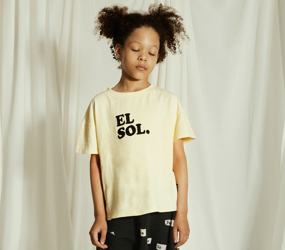 EL SOL Rounded T-Shirt