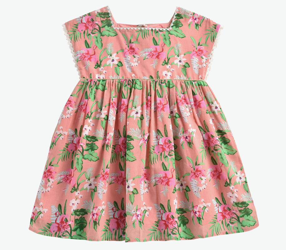 Dress TAPALPA Sienna Flamingo 2