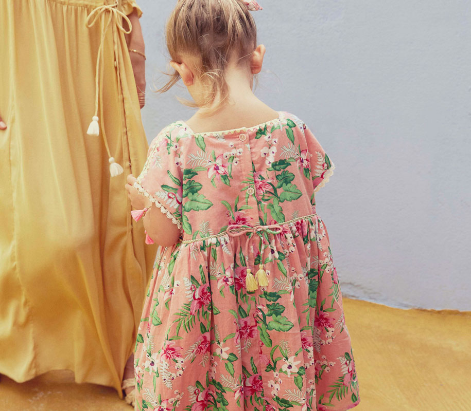 Dress TAPALPA Sienna Flamingo 4