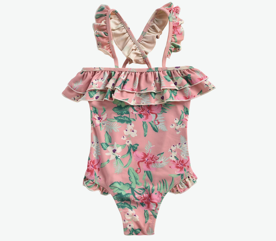 Bathing Suit ZACATECAS Sienna Flamingo 2