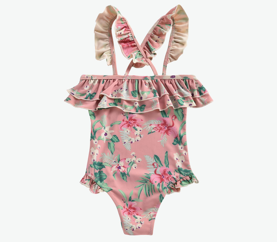 Bathing Suit ZACATECAS Sienna Flamingo 4
