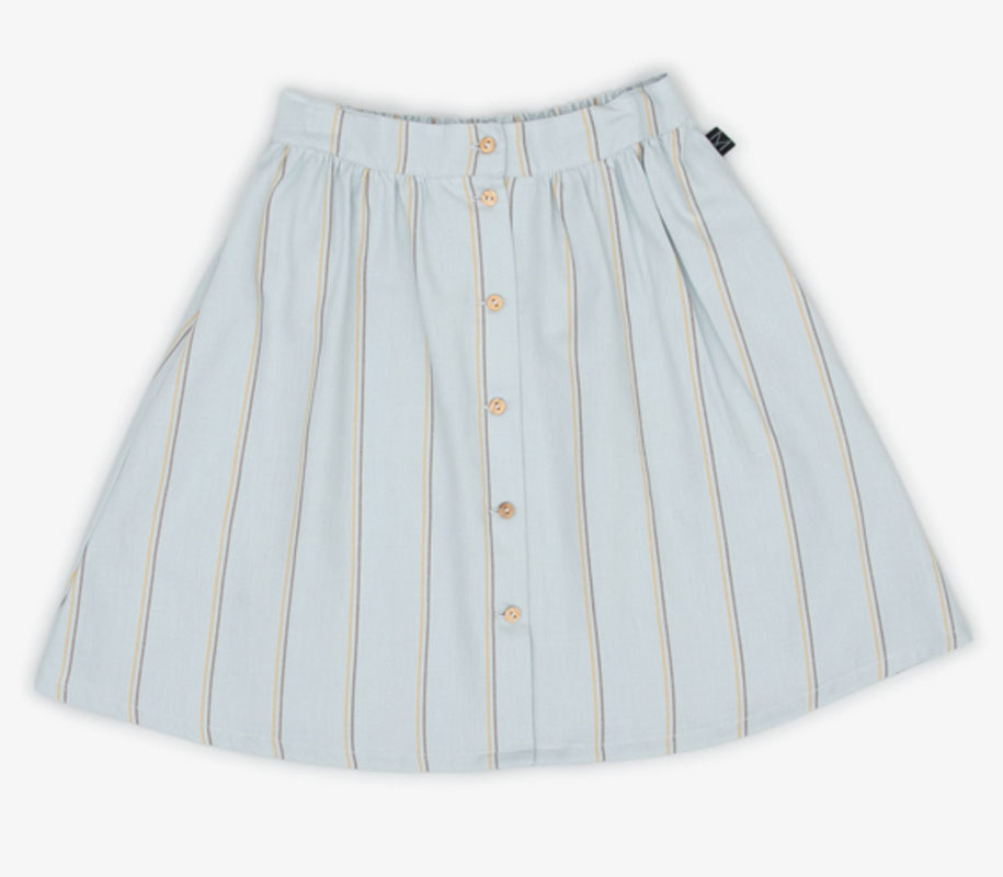 WAVE Button Skirt 2
