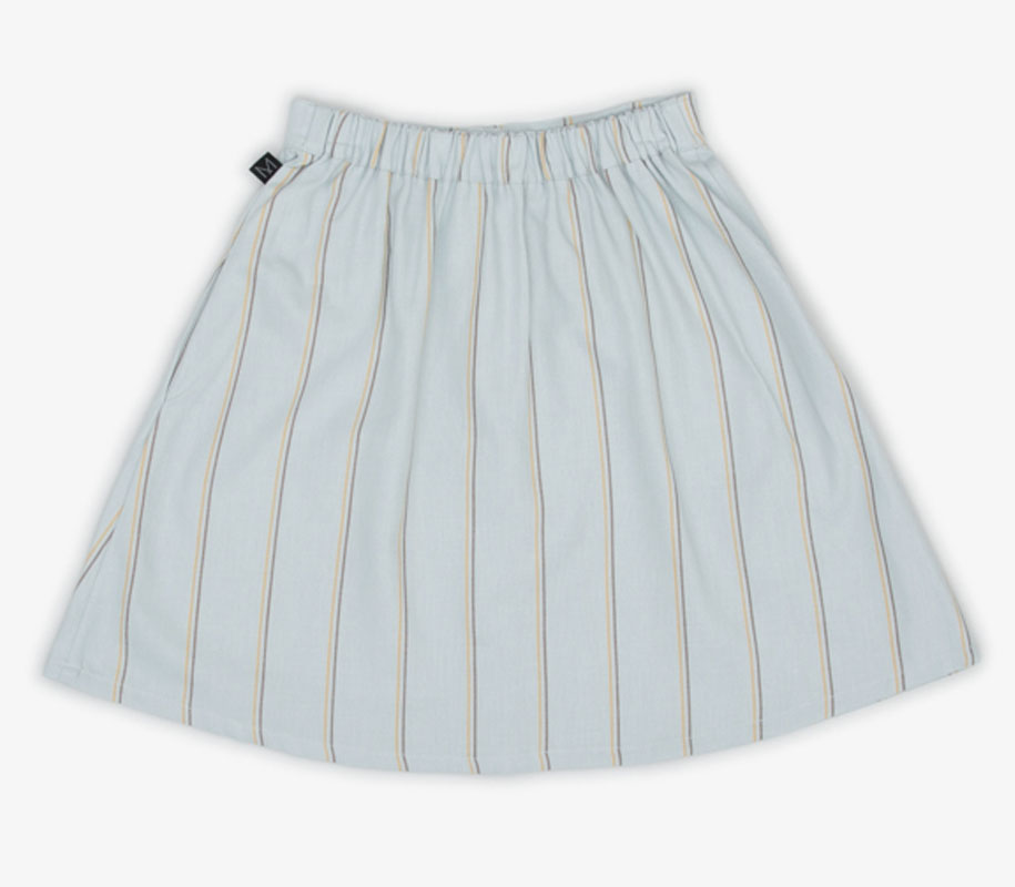 WAVE Button Skirt 3