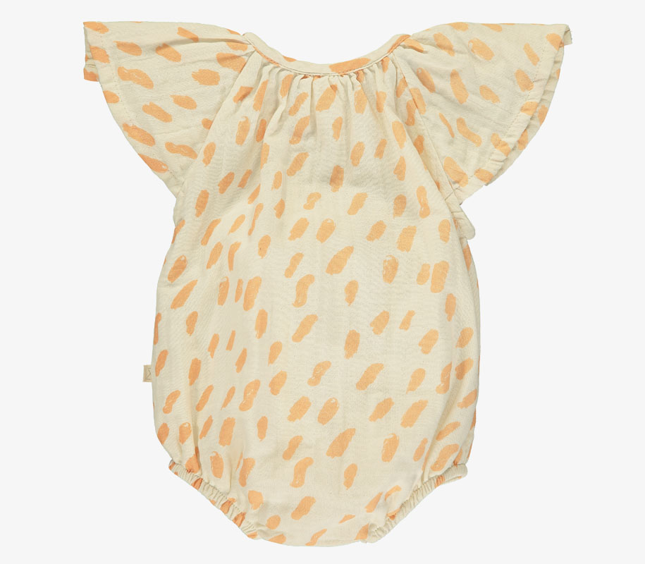 Butterfly Sunsuit PAINT SALMON 2