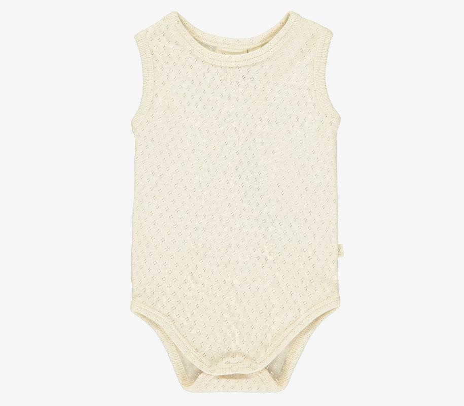 Patterned Vest Body VANILLA