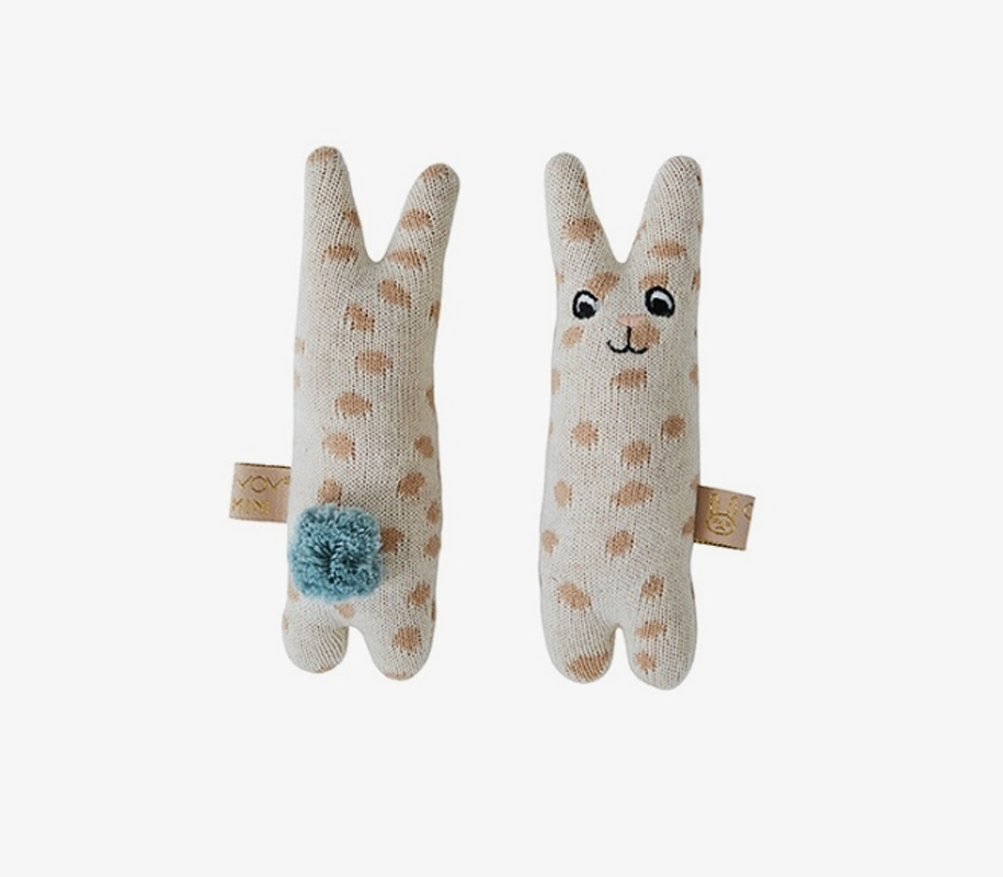 RABBIT Baby Rattle 2