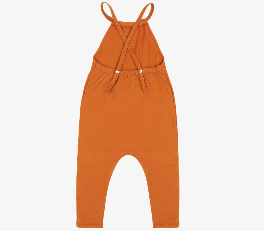 Gathered Jumpsuit TANGERINE 4