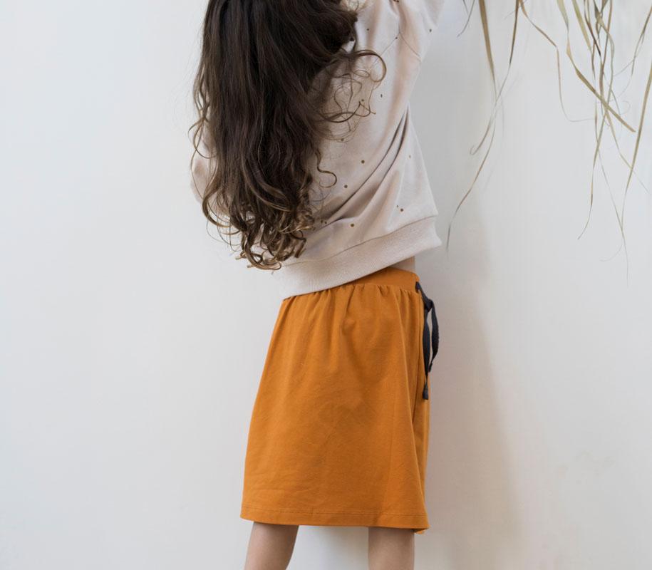 Midi Skirt TANGERINE