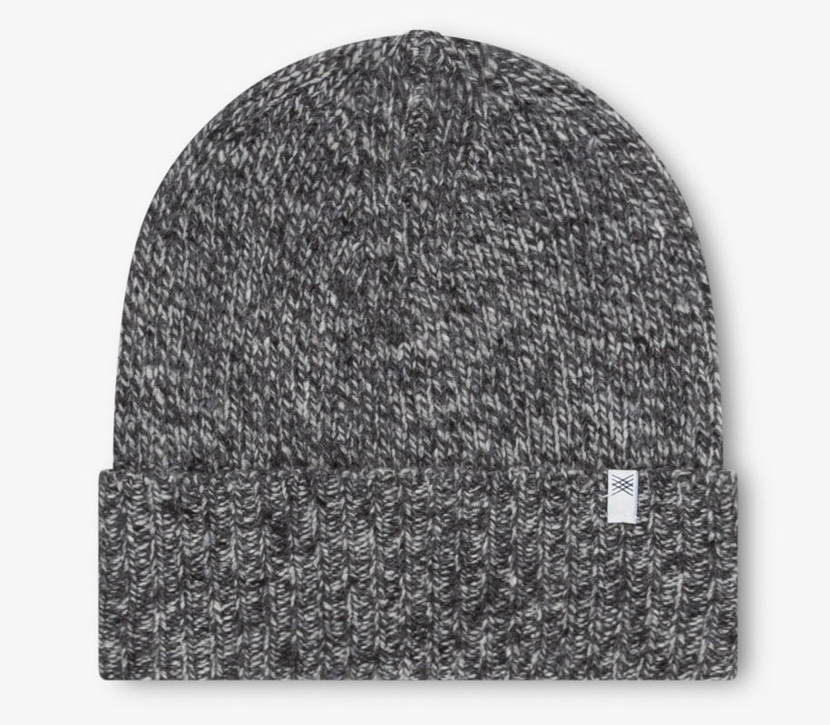 Knitted Hat MIXED WARM GREYS - 1