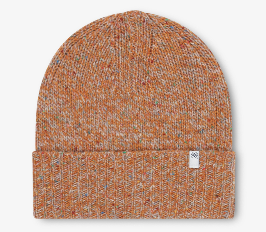 Knitted Hat MIXED WARM WHEAT - 1