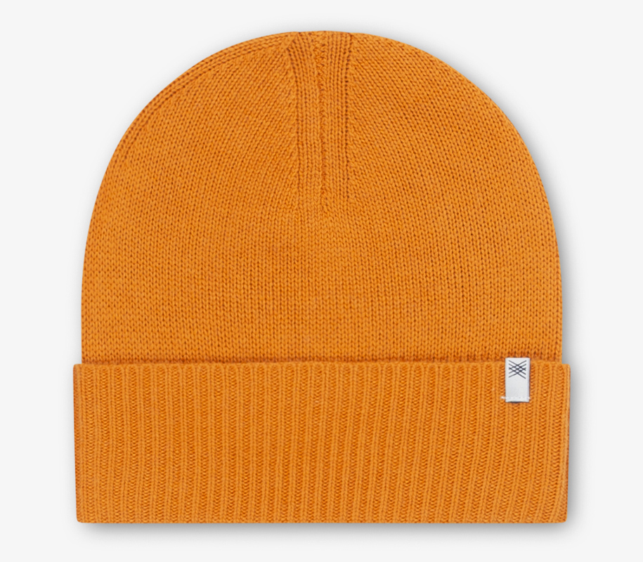 Knitted Hat WARM YELLOW 2