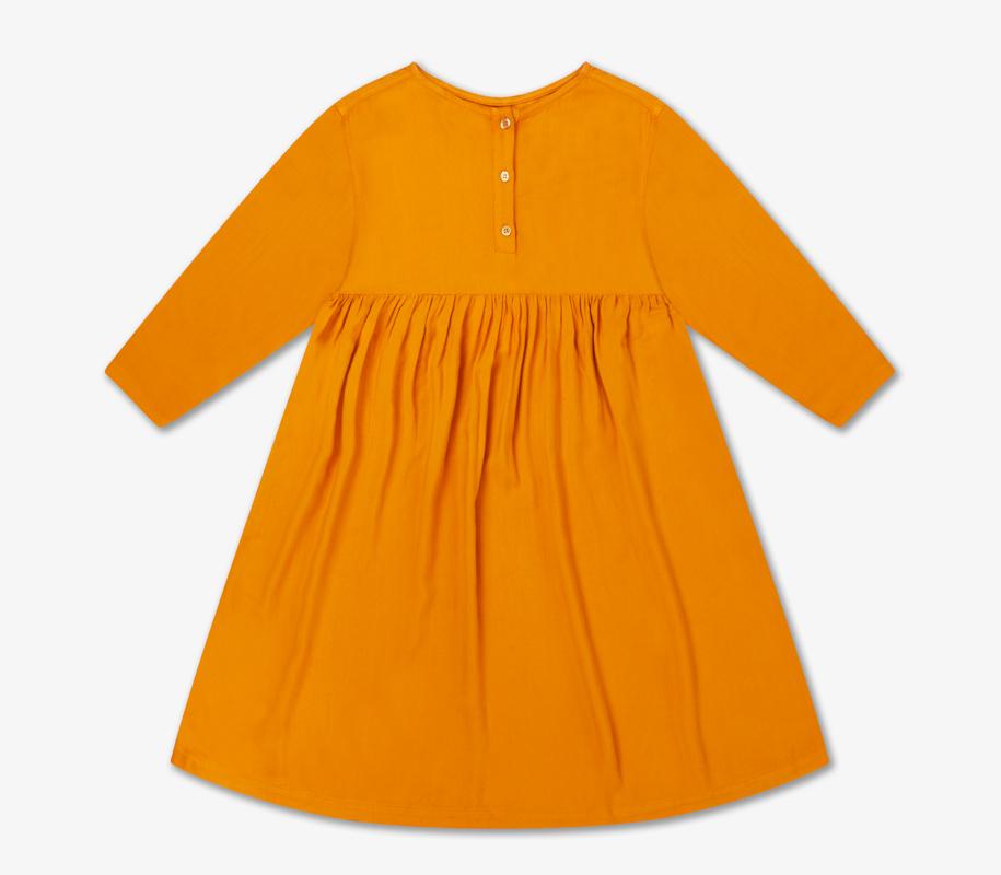 Midi Dress WARM OCHRE 2