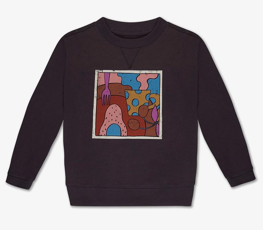 Sweater DARK NIGHT GREY 2