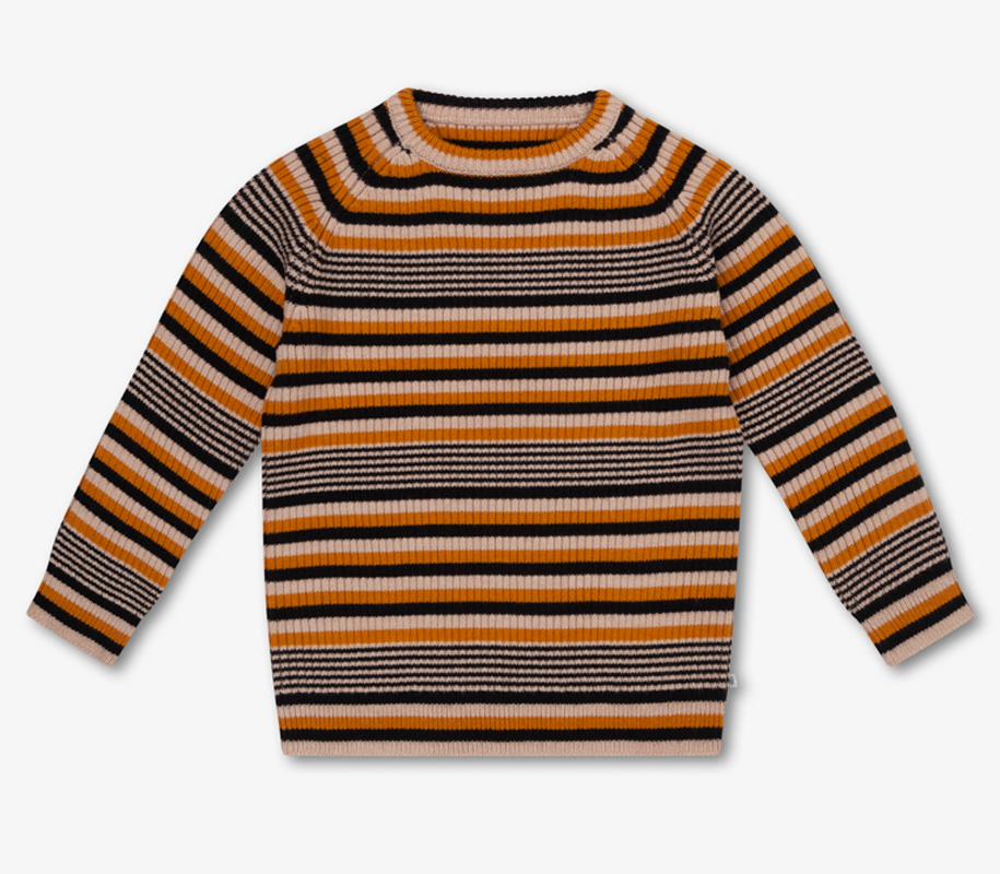 Knitted Sweater RETRO STRIPES - 2