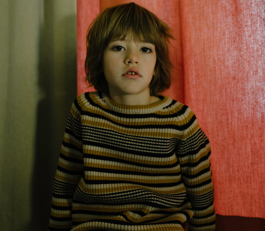 Knitted Sweater RETRO STRIPES