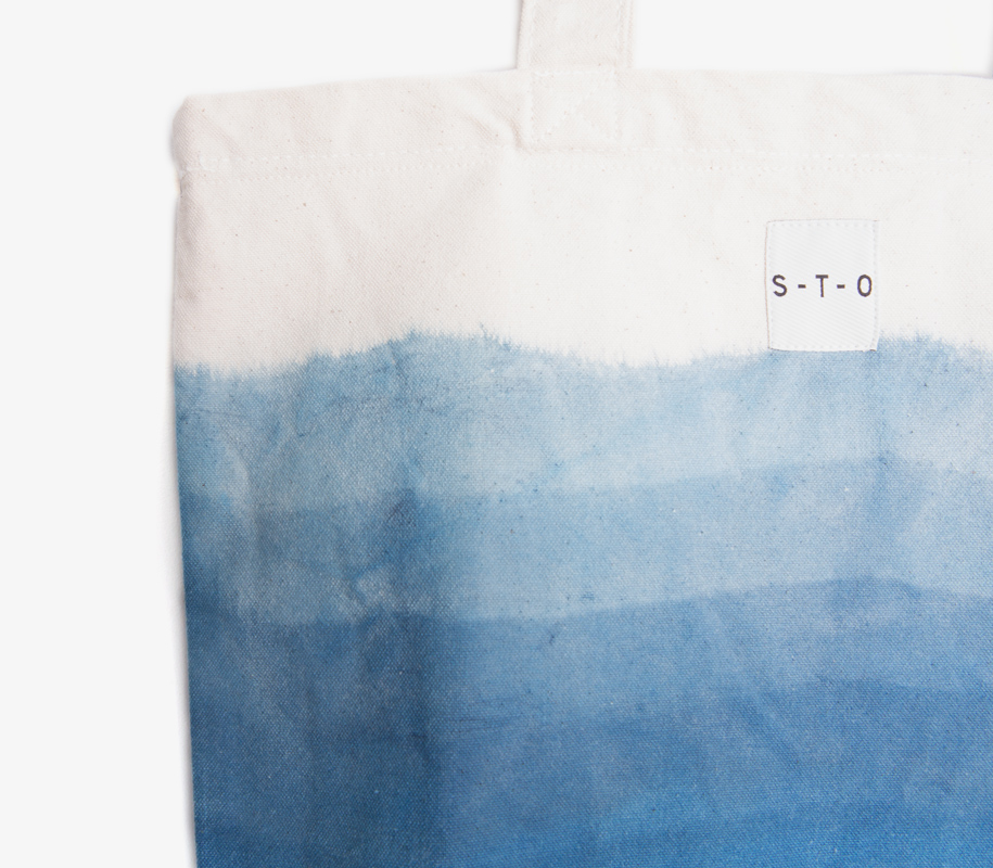 Hand-dyed OMBRE Bag