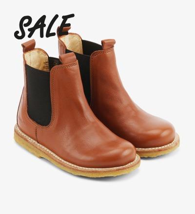 Chelsea Boots COGNAC - Angulus