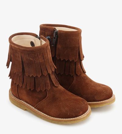 FRINGE Boot COGNAC - Angulus
