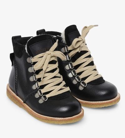 LACE UP Boot BLACK - Angulus