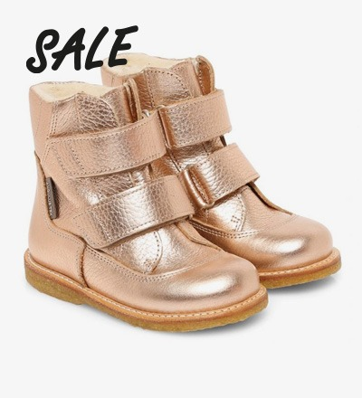 TEX-Boot with Velcro Straps LIGHT COBBER - Angulus