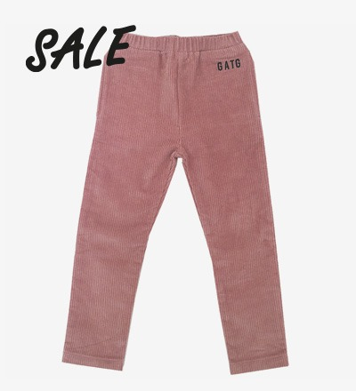 Corduroy Pants Dusty Pink Gardner and