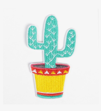 Iron-on Patch CACTUS - BIJ KIKI