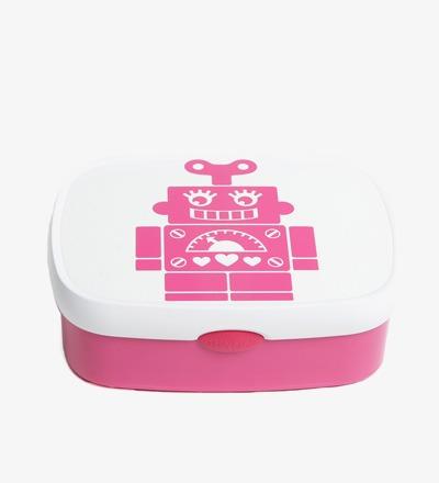 Lunchbox ROBOT PINK - BIJ KIKI