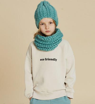 Sweatshirt ECO FRIENDLY VANILLA Kids on