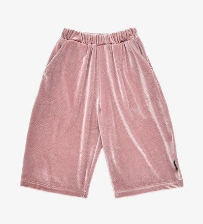 Cropped Pants ROSE VELVET Little Man