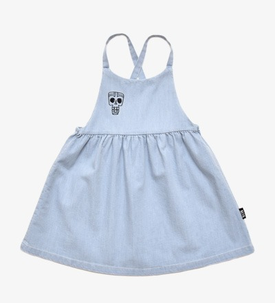 Dungaree Dress TIKI MASK - Little Man Happy