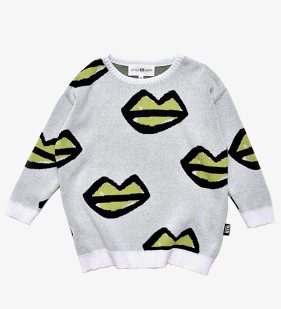 Knit Sweater XOXO LIPS Little Man